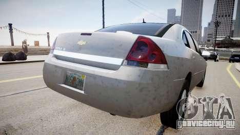 Chevrolet Impala LS для GTA 4 вид слева