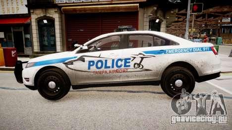 Tampa Airport Police для GTA 4 вид слева