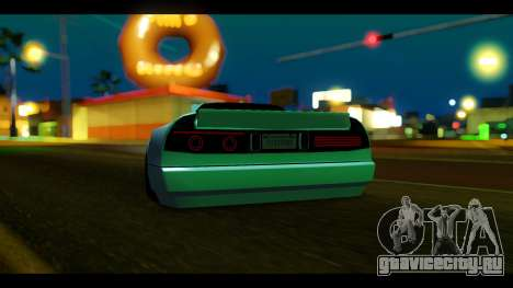 Infernus Rocket Bunny by ZveR для GTA San Andreas