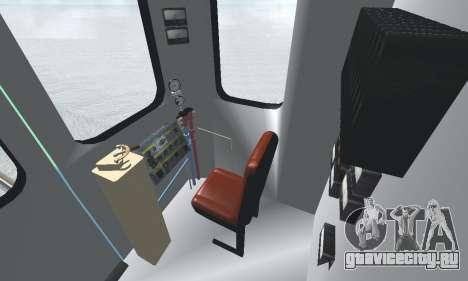 Вагон типа ЕмаЭГ 81-502 0002 для GTA San Andreas двигатель