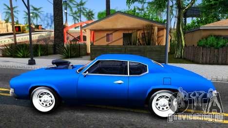 Sabre Tuned для GTA San Andreas вид слева