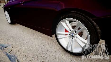 BMW 335i 2013 для GTA 4 вид сзади