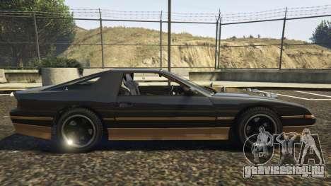 Ruiner FD Spec для GTA 5 вид слева