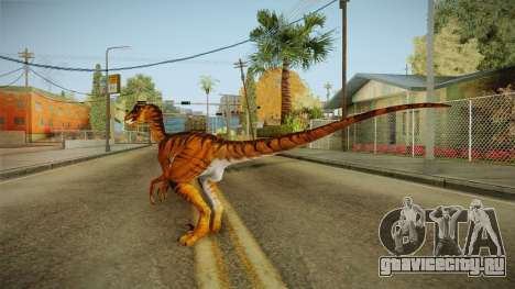 Primal Carnage Velociraptor Savage для GTA San Andreas третий скриншот