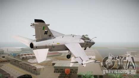 EMB Embraer A-1 AMX FAB для GTA San Andreas вид слева