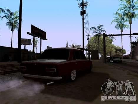 ВАЗ 2101 Снежная версия BPAN для GTA San Andreas вид сзади слева