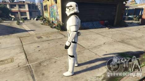 Stormtrooper 0.1 для GTA 5 второй скриншот