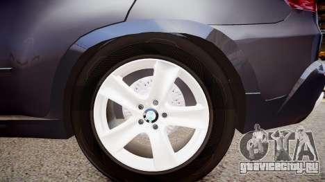 BMW X5 V1.0 для GTA 4 вид сзади