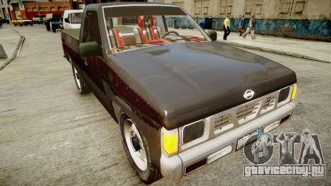 Nissan Pickup 1994 2Doors для GTA 4 вид справа