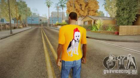 Праздничная футболка для GTA San Andreas второй скриншот
