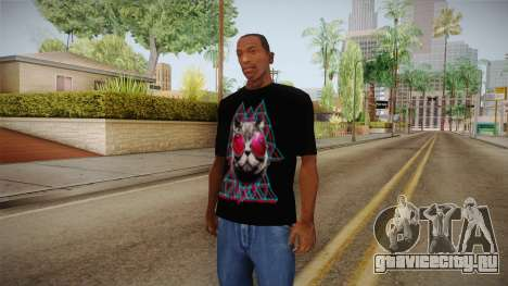 3D Space Cat T-Shirt для GTA San Andreas