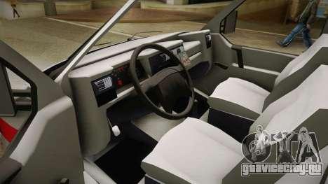 Volkswagen T4 Kola Hitne Pomoći для GTA San Andreas вид сзади слева