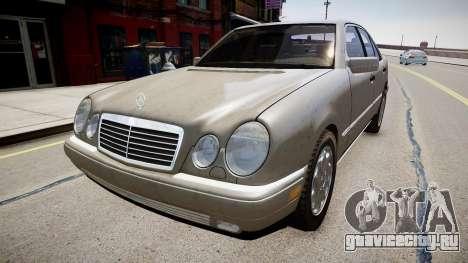 Mercedes E280 w210 1998 для GTA 4