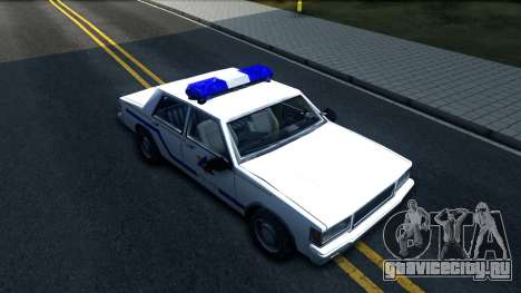 Vapid Stanier Hometown Police Department 1999 для GTA San Andreas вид справа