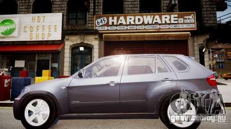 BMW X5 V1.0 для GTA 4 вид слева