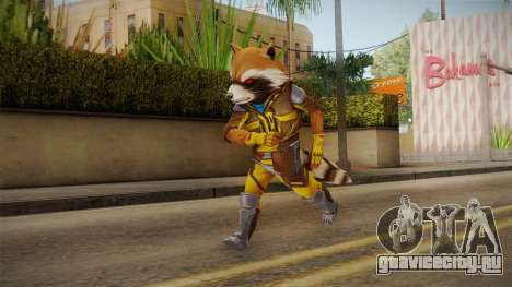 Marvel Future Fight - Rocket Raccon (ANAD) для GTA San Andreas