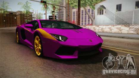 Lamborghini Aventador The Joker для GTA San Andreas