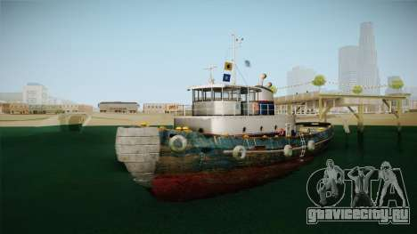 GTA 5 Buckingham Tug Boat для GTA San Andreas