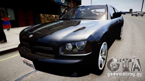 Dodge Charger Unmarked для GTA 4