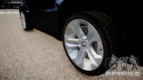 BMW X6 для GTA 4 вид сзади