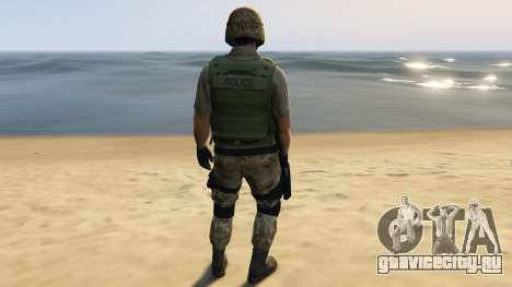 SAHP SWAT Ped Model 2.0.0 для GTA 5 третий скриншот