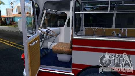 ЛАЗ-695Е для GTA San Andreas