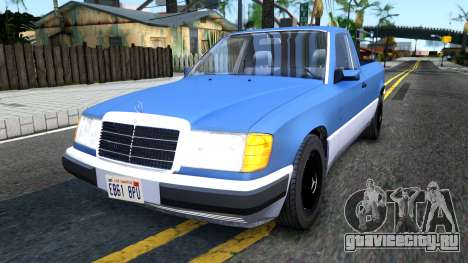 Mercedes-Benz W124 Pickup для GTA San Andreas