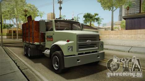 GTA 5 Vapid Scrap Truck Cleaner v2 IVF для GTA San Andreas