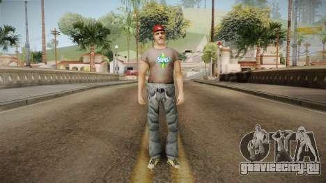 Современный житель для GTA San Andreas