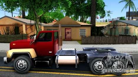 Cement Truck для GTA San Andreas вид слева