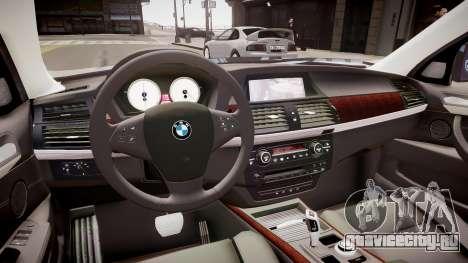 BMW X5 V1.0 для GTA 4 вид изнутри