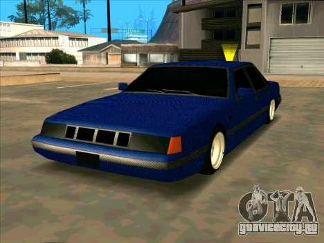 Intruder CARBON для GTA San Andreas