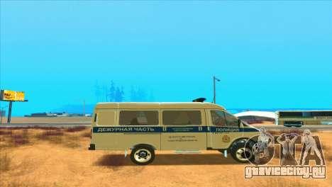 Газель ППСП для GTA San Andreas вид справа