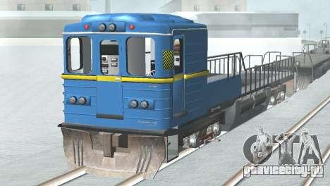 Вагон типа ЕмаЭГ 81-502 0001 для GTA San Andreas вид справа