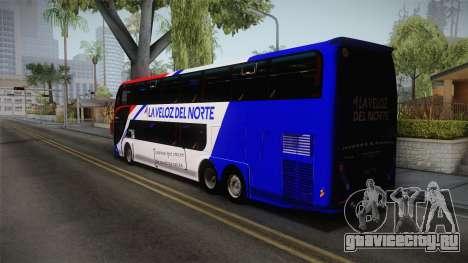 Metalsur Starbus II для GTA San Andreas вид слева