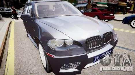 BMW X5 V1.0 для GTA 4 вид сзади слева