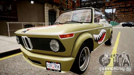 BMW 2002 Turbo 1973 для GTA 4