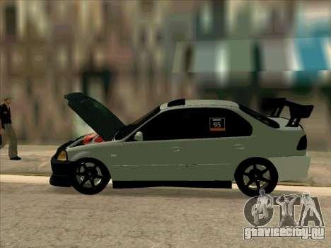 Honda CIVIK FERIO RR для GTA San Andreas вид сверху