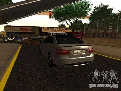 Mercedes-Benz E63 Armenian для GTA San Andreas вид сбоку