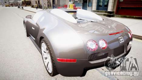Bugatti Veyron 16.4 v1.7 для GTA 4 вид слева
