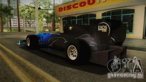 F1 Lotus T125 2011 v2 для GTA San Andreas вид слева