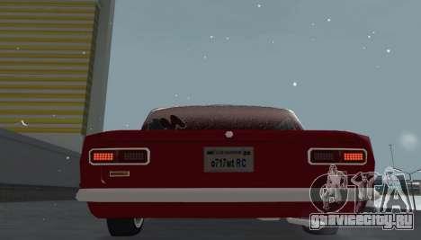 ВАЗ 2101 Снежная версия BPAN для GTA San Andreas вид сзади