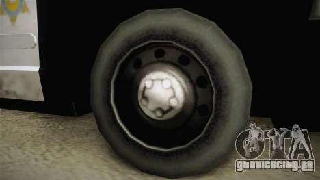 Ford Crown Victoria SHERIFF для GTA San Andreas вид сзади
