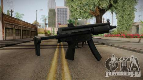 Hidden MP5 для GTA San Andreas