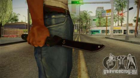 Support Knife для GTA San Andreas