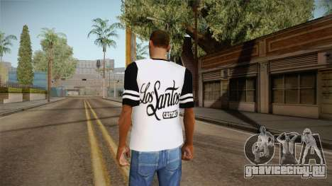 Футболка Los Santos Customs для GTA San Andreas третий скриншот