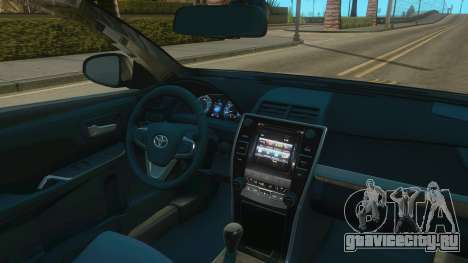 Toyota Camry 2017 для GTA San Andreas вид справа