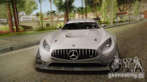 Mercedes-Benz AMG GT3 2016 для GTA San Andreas вид сбоку