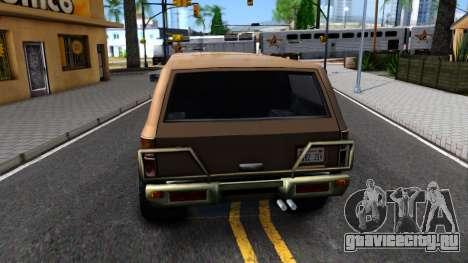 Military Off-road Rancher для GTA San Andreas