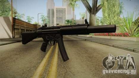MP5 SD2 для GTA San Andreas